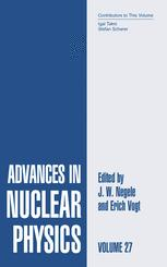 Advances in Nuclear Physics, Volume 27