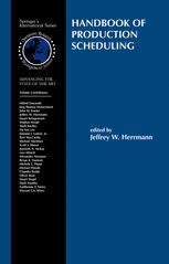 Handbook of Production Scheduling