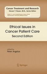 Ethical Issues in Cancer Patient Care Second Edition