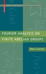 Fourier Analysis on Finite Abelian Groups