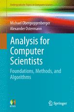 Analysis for Computer Scientists