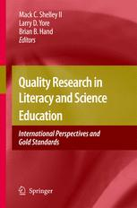 Quality Research in Literacy and Science Education