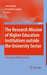 The Research Mission of Higher Education Institutions outside the University Sector