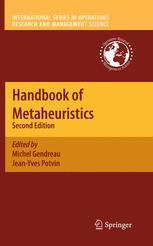 Handbook of Metaheuristics