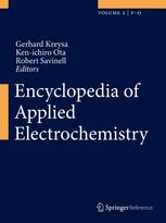 Encyclopedia of Applied Electrochemistry