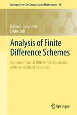 Analysis of Finite Difference Schemes
