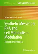 Synthetic Messenger RNA and Cell Metabolism Modulation