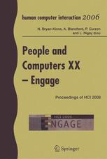 People and Computers XX — Engage