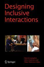 Designing Inclusive Interactions