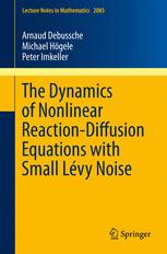 The Dynamics of Nonlinear Reaction-Diffusion Equations with Small Lévy Noise