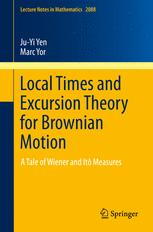 Local Times and Excursion Theory for Brownian Motion