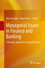 Managerial Issues in Finance and Banking