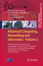 Advanced Computing, Networking and Informatics- Volume 2