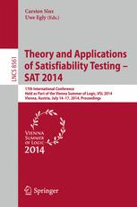 Theory and Applications of Satisfiability Testing – SAT 2014