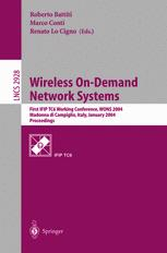 Wireless On-Demand Network Systems