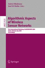 Algorithmic Aspects of Wireless Sensor Networks