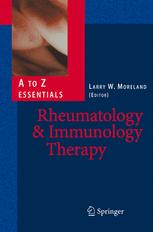 Rheumatology and Immunology Therapy