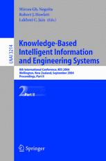 Knowledge-Based Intelligent Information and Engineering Systems