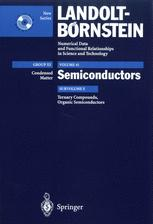 Ternary Compounds, Organic Semiconductors