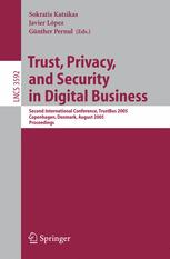 Trust, Privacy, and Security in Digital Business
