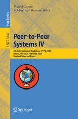 Peer-to-Peer Systems IV