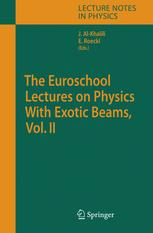 The Euroschool Lectures on Physics with Exotic Beams, Vol. II