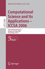 Computational Science and Its Applications - ICCSA 2006