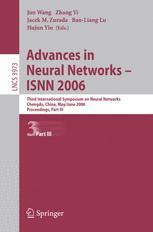 Advances in Neural Networks - ISNN 2006