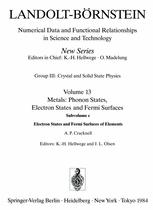 Electron States and Fermi Surfaces of Elements