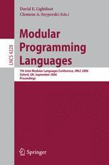 Modular Programming Languages