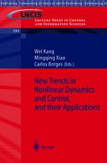 New Trends in Nonlinear Dynamics and Control and their Applications