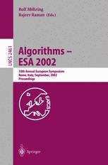Algorithms — ESA 2002