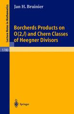 Borcherds Products on O(2, l) and Chern Classes of Heegner Divisors