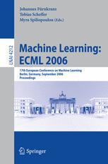 Machine Learning: ECML 2006