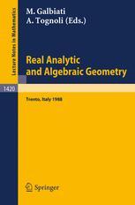 Real Analytic and Algebraic Geometry