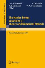 The Navier-Stokes Equations II — Theory and Numerical Methods