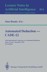 Automated Deduction — CADE-12