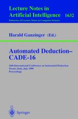 Automated Deduction — CADE-16