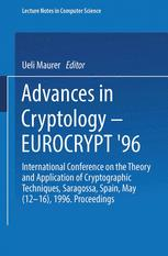 Advances in Cryptology — EUROCRYPT '96