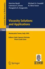 Viscosity Solutions and Applications
