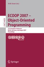 ECOOP 2007 – Object-Oriented Programming