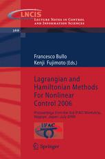 Lagrangian and Hamiltonian Methods for Nonlinear Control 2006