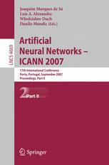 Artificial Neural Networks – ICANN 2007