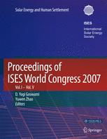 Proceedings of ISES World Congress 2007 (Vol. I – Vol. V)