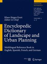 Encyclopedic Dictionary of Landscape and Urban Planning