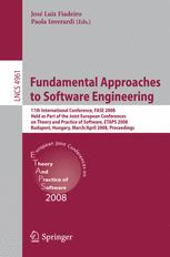 Fundamental Approaches to Software Engineering