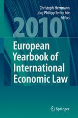 European Yearbook of International Economic Law 2010