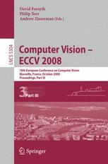 Computer Vision – ECCV 2008