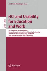 HCI and Usability for Education and Work