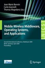 MobileWireless Middleware, Operating Systems, and Applications